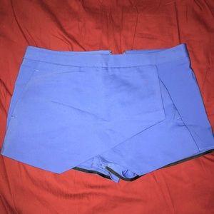 Express skirt shorts
